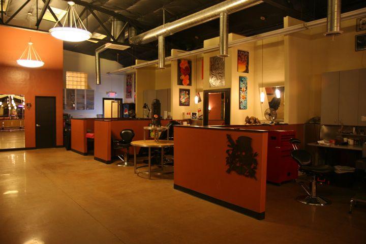 cool looking tattoo stations | Shop interiors, Tattoo ...