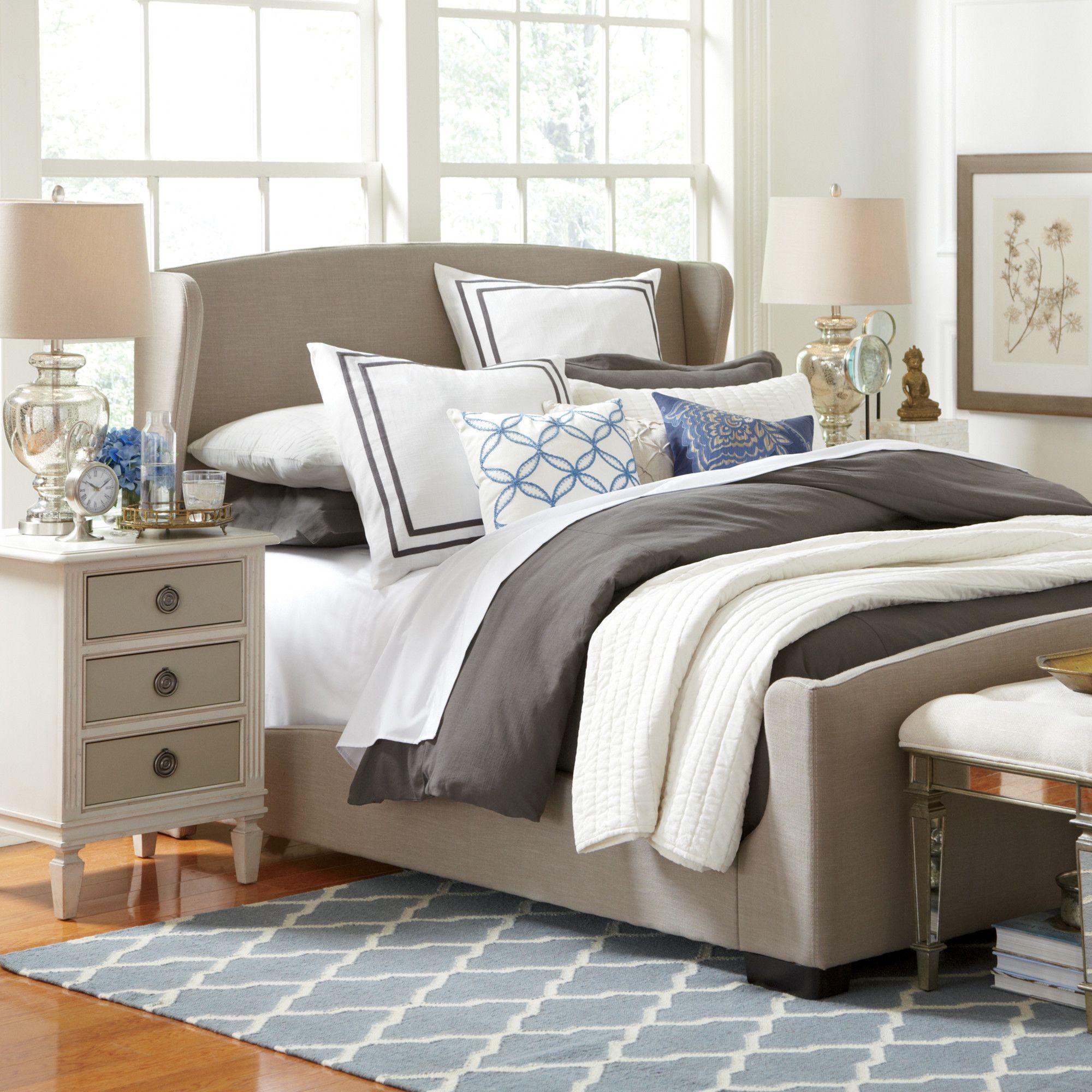 Best Birch Lane Baxter Bed Baxter Beds Furniture 640 x 480