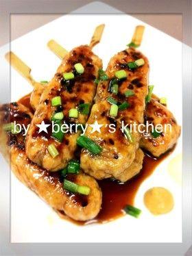 節約レシピ♪ムネ肉でつくねの照り焼き♪ by ★べりぃ★ [クックパッド] 簡単おいしいみんなのレシピが260万品