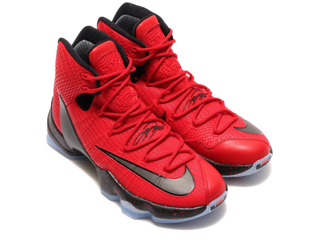 A Detailed Look At The Nike LeBron 13 Elite University Red
