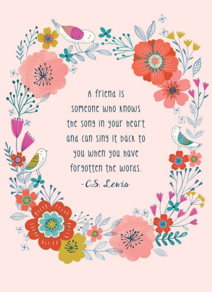 Cs Lewis Quote About Friendship Delectable I Love This Printrebecca Jones  Words Of Wisdom  Pinterest