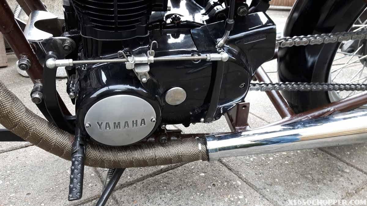 Bare Steel xs650 | Yamaha xs650 Chopper | Engine rebuild