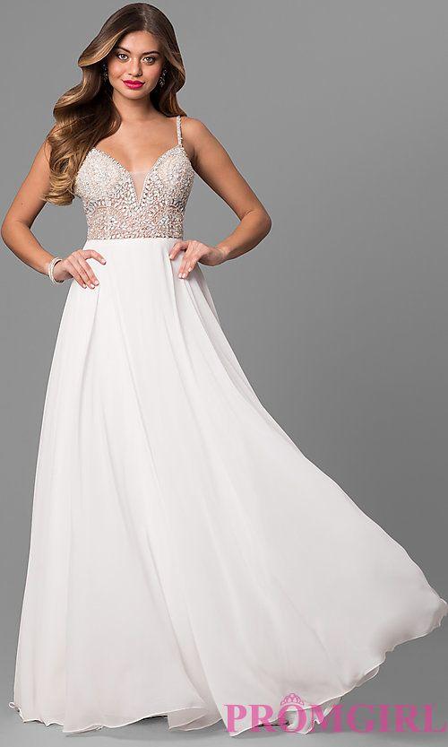 Jvn By Jovani Open Back Beaded Bodice Prom Dress Perfect