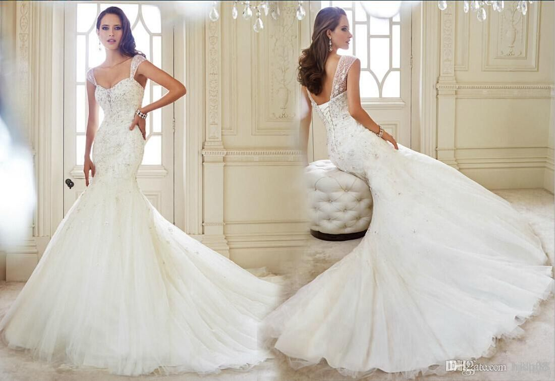 Free shipping, $105.53/Piece:buy wholesale Mermaid Wedding Dresses Applique Beaded Bridal Gowns from DHgate.com,get worldwide delivery and buyer protection service.