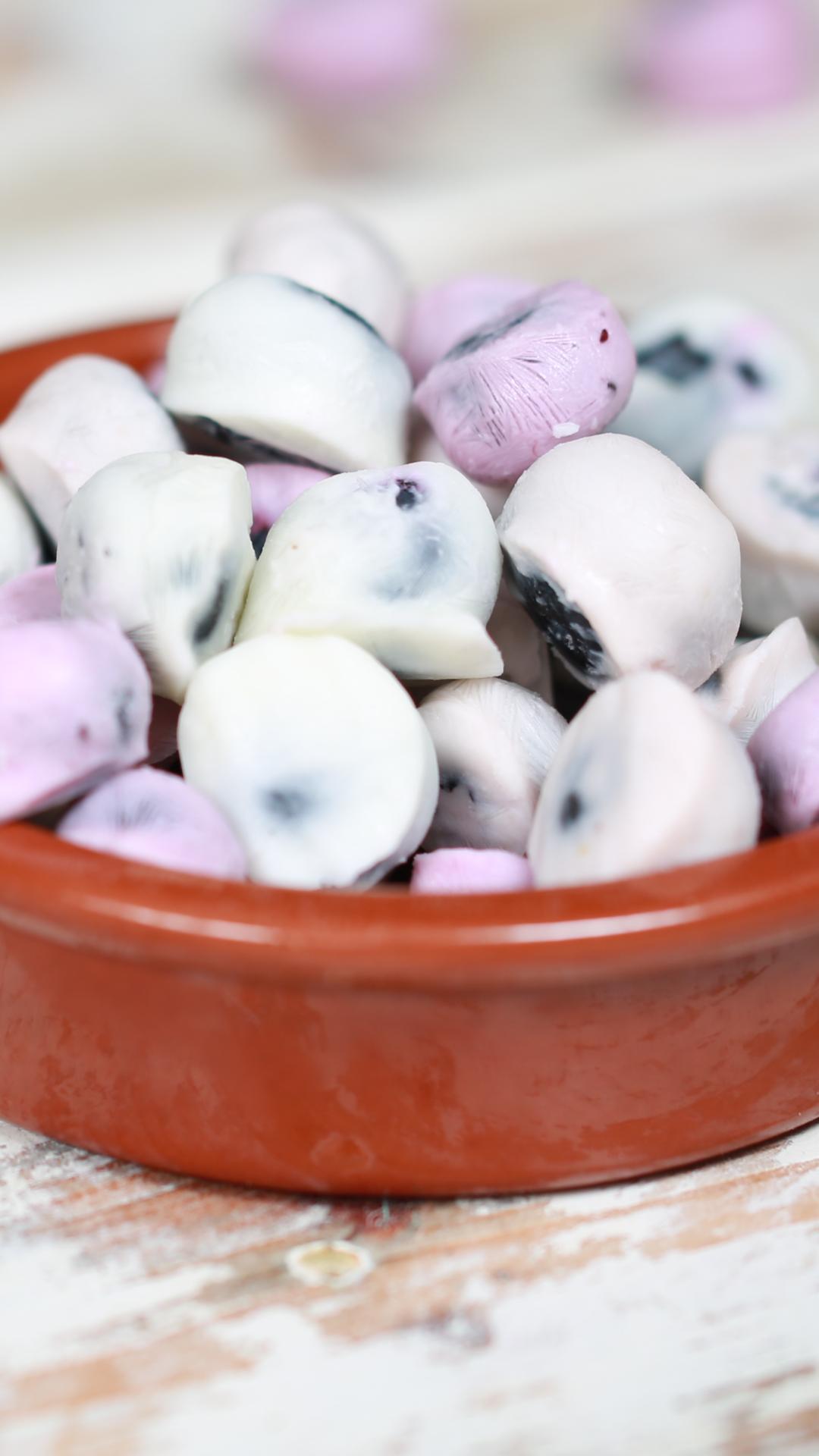 Frozen Yoghurt Blueberry Bites