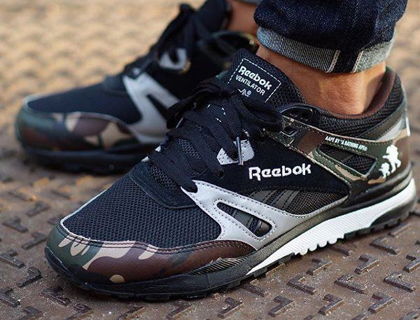 reebok ventilator camo x aape bape jodida dicci n. Black Bedroom Furniture Sets. Home Design Ideas