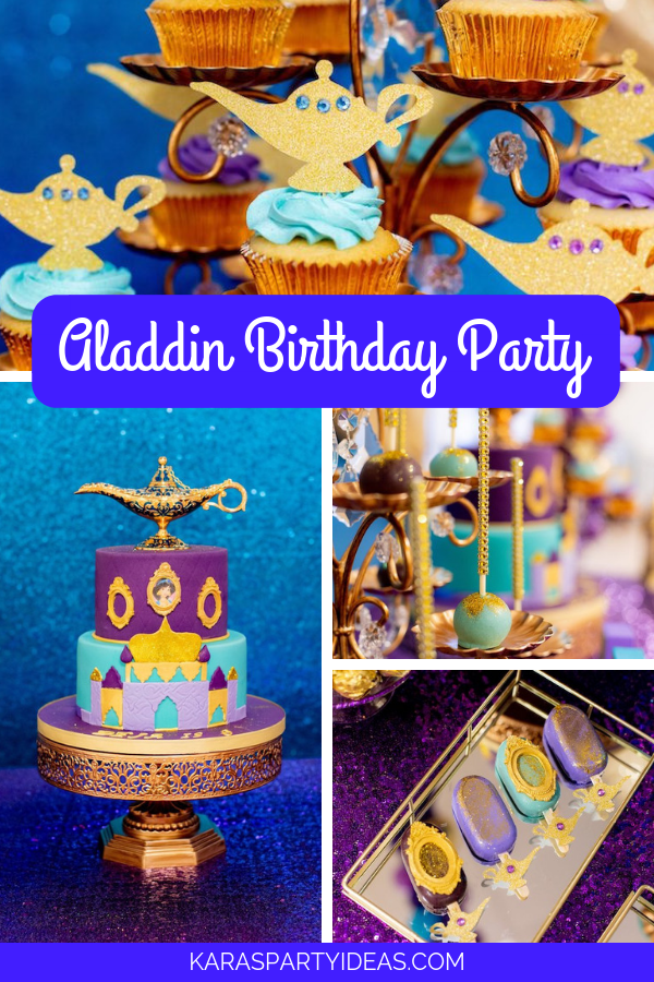 Aladdin Birthday Party Aladdin Birthday Party Aladdin Party