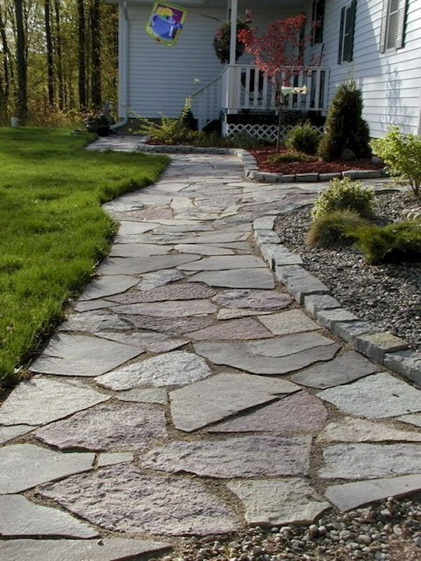 43 Awesome Garden Path And Walkway Ideas For Outdoor Space Walkway Landscaping Pathway Landscaping Outdoor Walkway