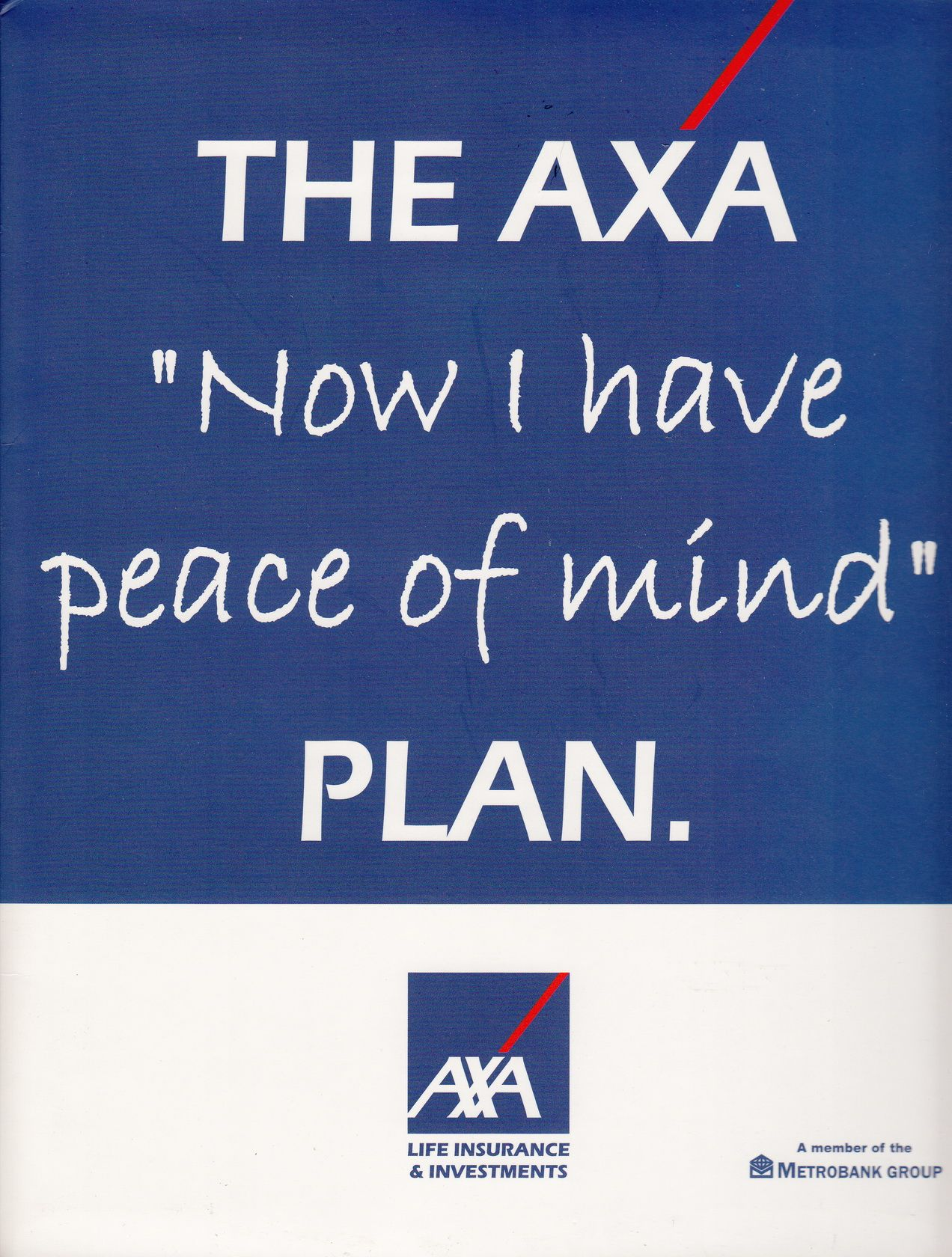 Now I Have Peace Of Mind Axa Financialplanning Estateplanning