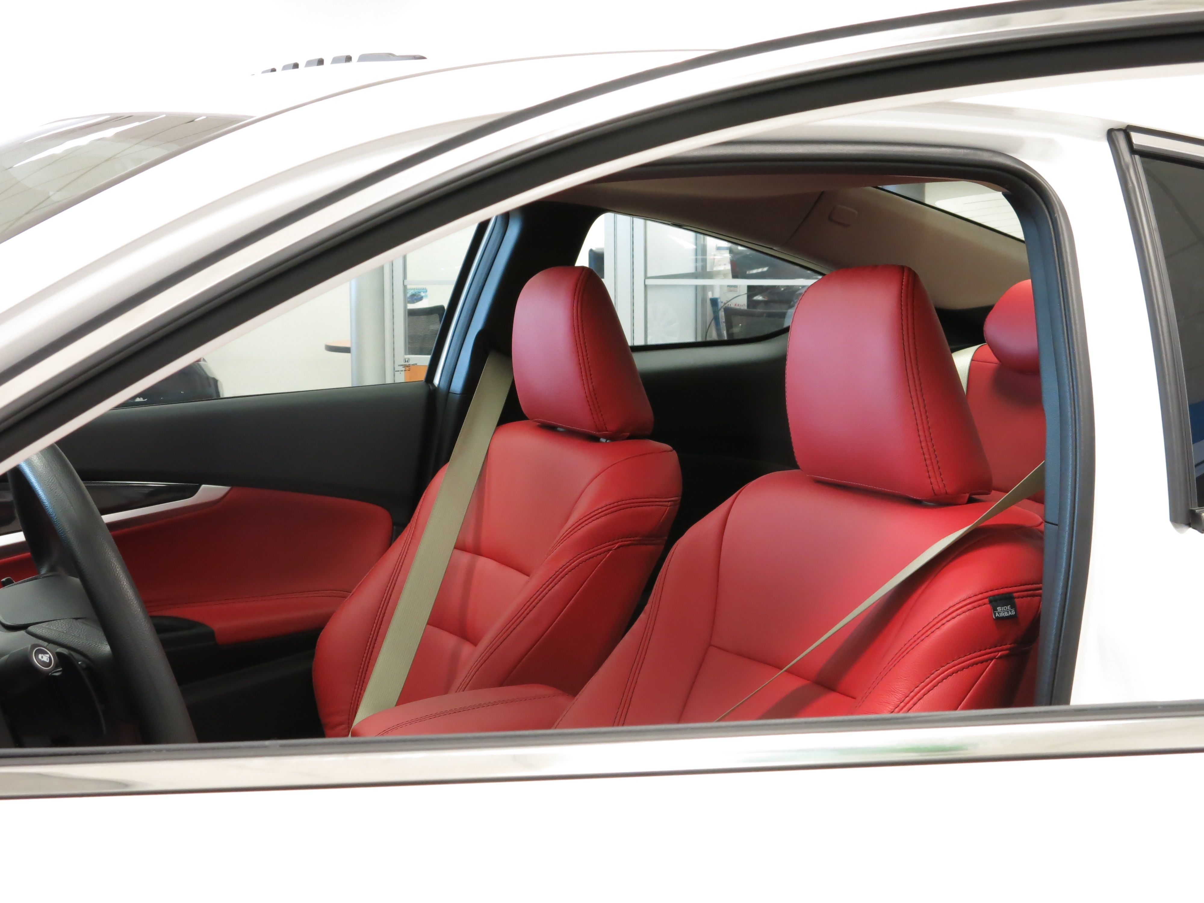 Spice Up Your Honda Accord Coupe With Red Hot Leather Seats Like We Did Car Dealers Of North