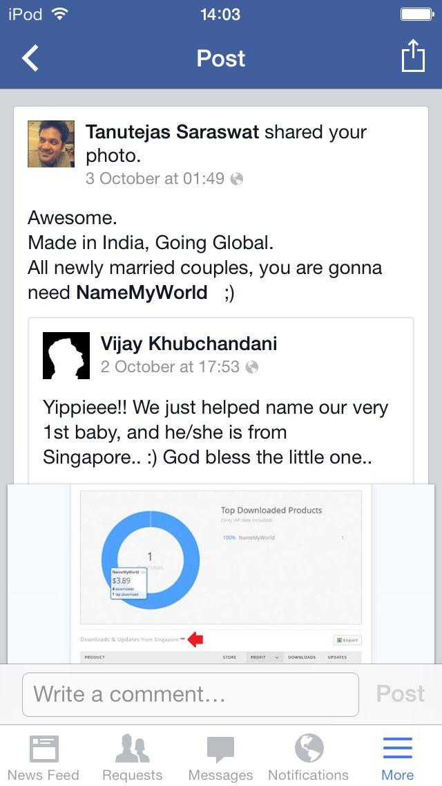 Tanutejas Saraswat, on Facebook