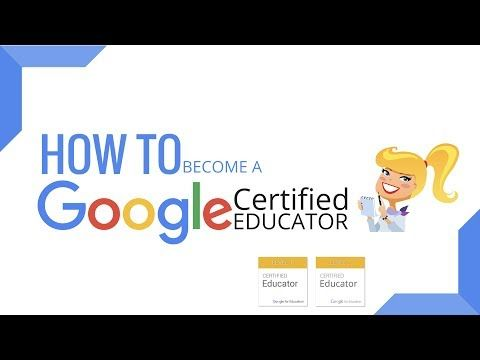 Google Certified Educator Academy Education Education Tech