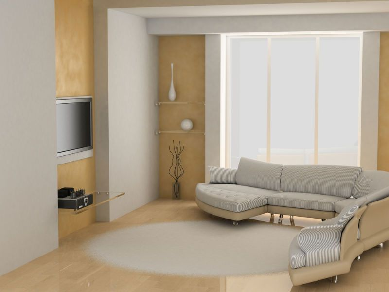 Tende a pannello per ambiente moderno tende tende a for Tende casa minimalista