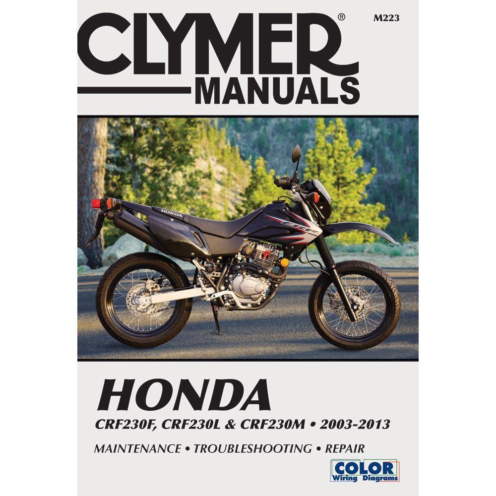 Clymer Honda CRF230F (2003-2013) & CRF230L & CRF230M (2008-2009