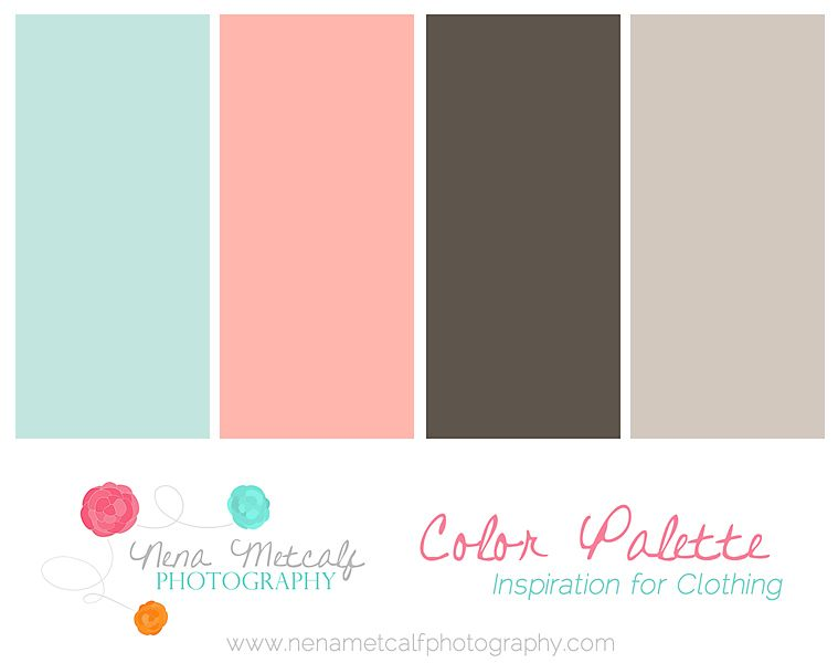 Nena Metcalf Photography Color Palettes 51 Family Session Clothing Color Palettes   Katy Family Photographer