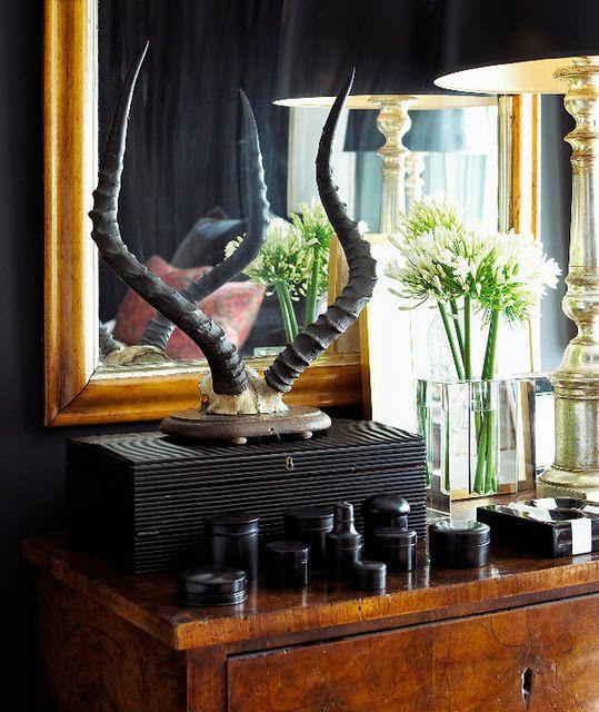 Tommy Smythe's Bedroom Vignette