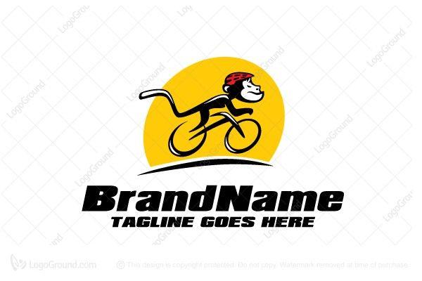 Monkey Bike Logo Bike Logo Monkey Logo Logos