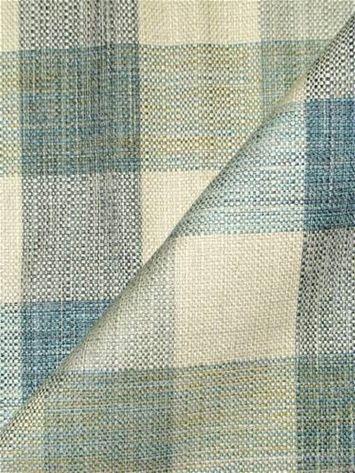 Plateau Ocean Plaid Fabric Richloom Plaid Fabric Farmhouse Upholstery Fabric Fabric Decor Coastal Fabric