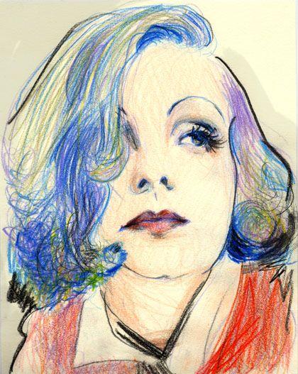 Greta Garbo bu Gabriel Villena