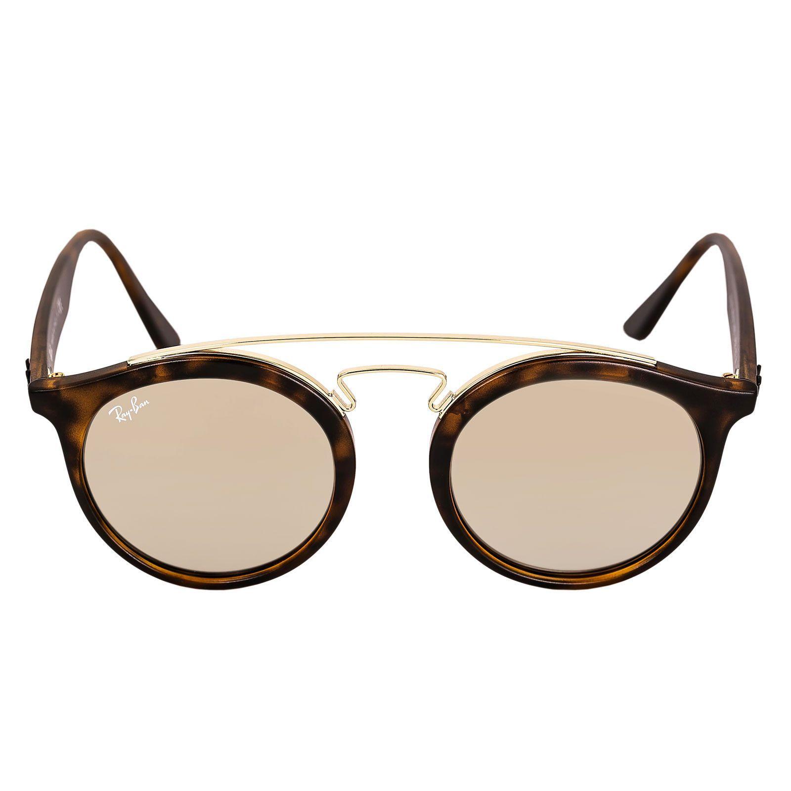 b103ff5c8c Ray-Ban RB 4256 60925A 49 Women s Gatsby I Gold Mirror Lenses Tortoise  Propionate   Gold Metal Frame Sunglasses