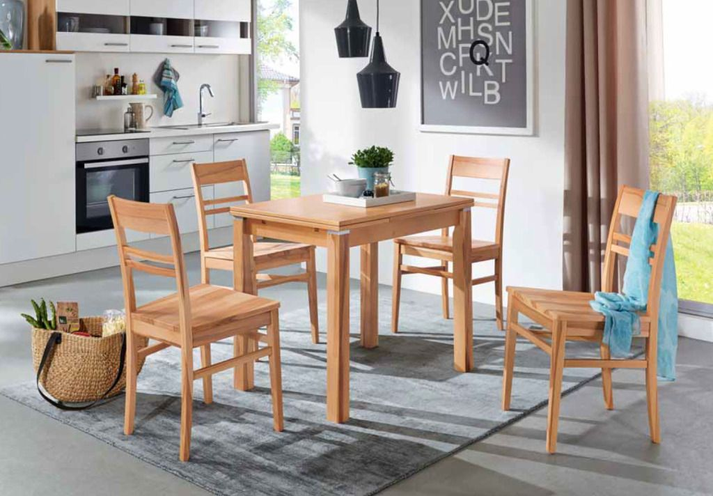 Niehoff #Tischgruppe #Esstisch #Holzstuhl #Esszimmer - Möbel Mit www