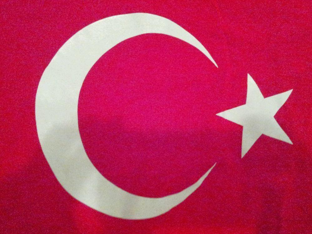 Red Crescent Moon & Star T-Shirt - Medium