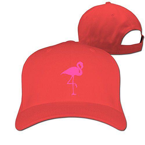 Pink Flamingo New Design Unisex-Adult Sun Visor Cap Red C... https 348e2f047a09