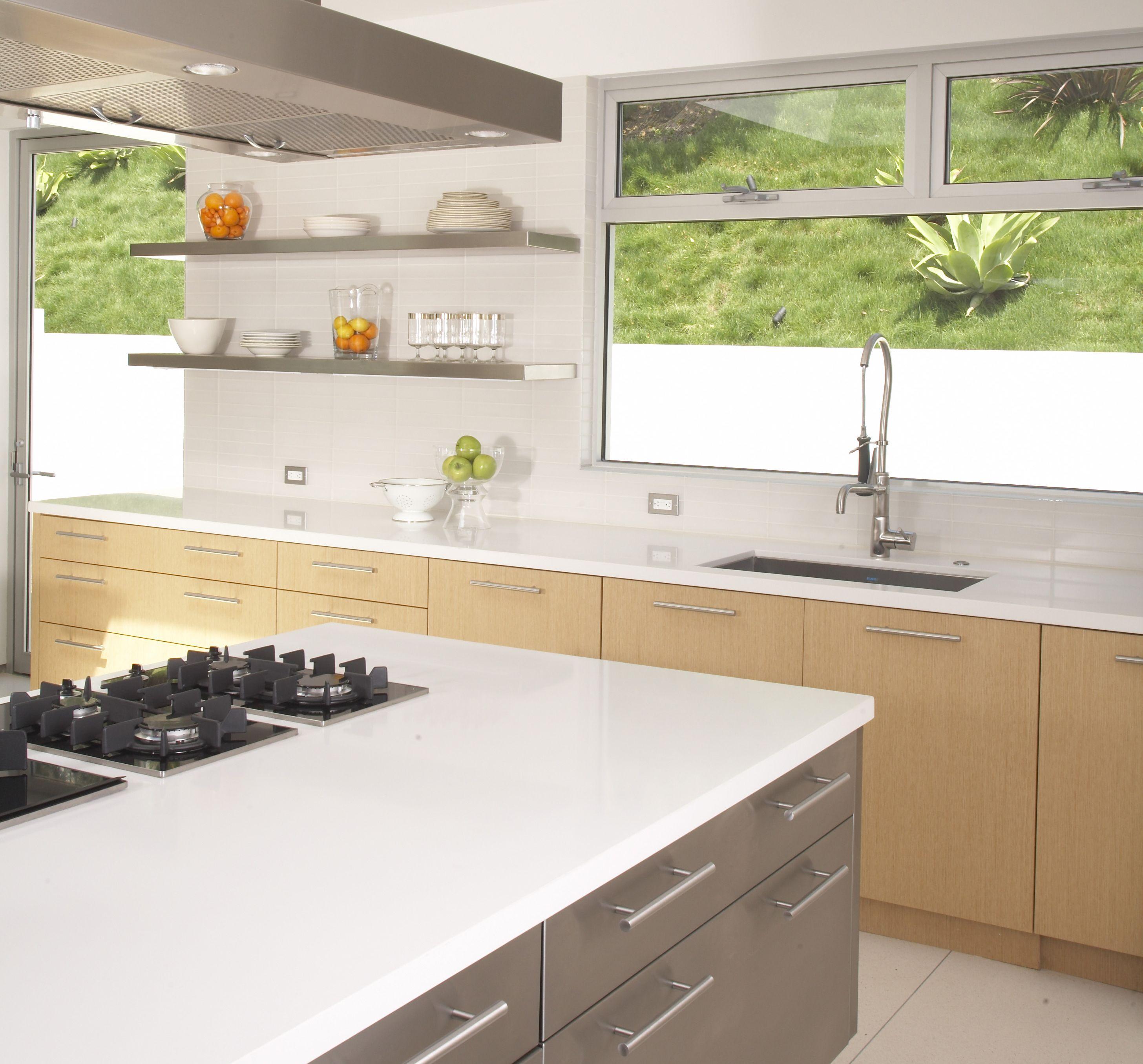 Caesarstone Blizzard Caesarstone Kitchen Caesarstone Countertop Modern Kitchen