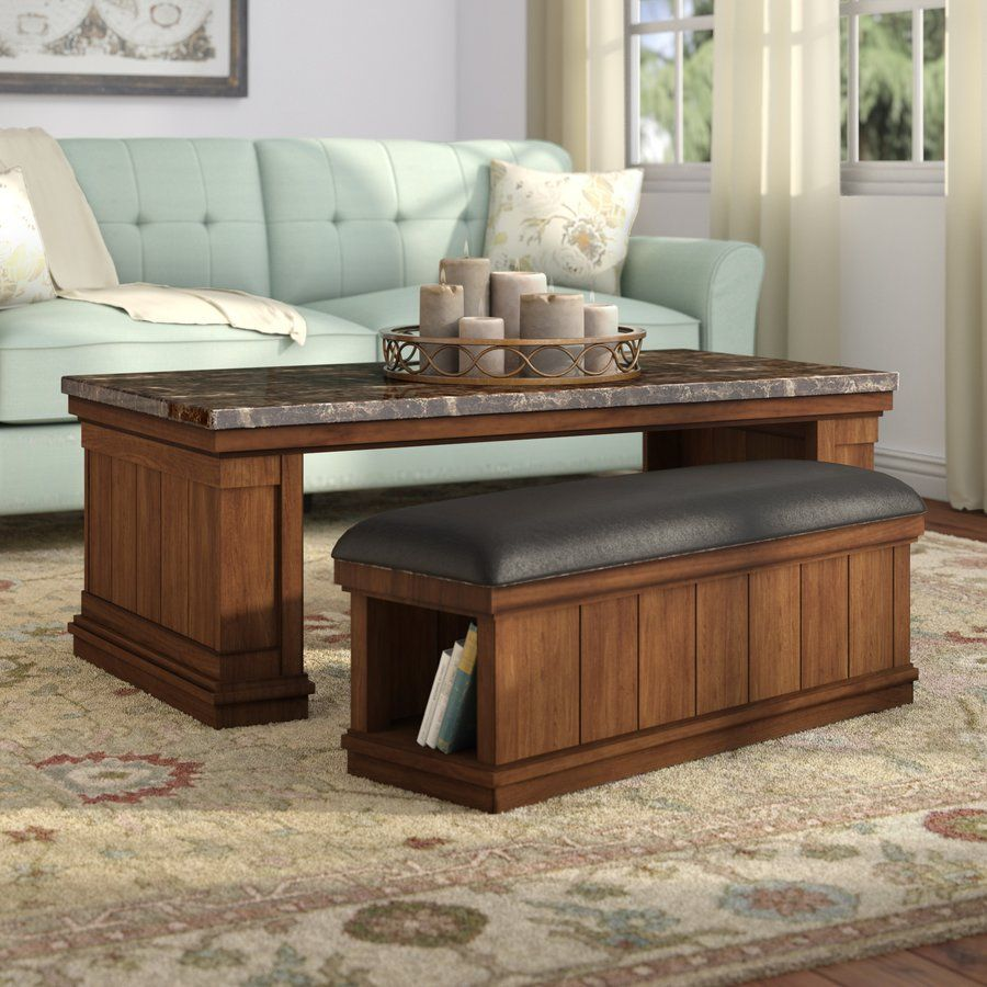 Hodgkinson Coffee Table With Ottoman By Darby Home Co Coffee Table Ottoman Coffee Table Stylish Coffee Table [ 900 x 900 Pixel ]