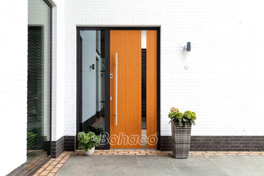 Verwonderlijk Aluminium deuren - visitekaartje van uw woning | Moderne voordeur GN-22