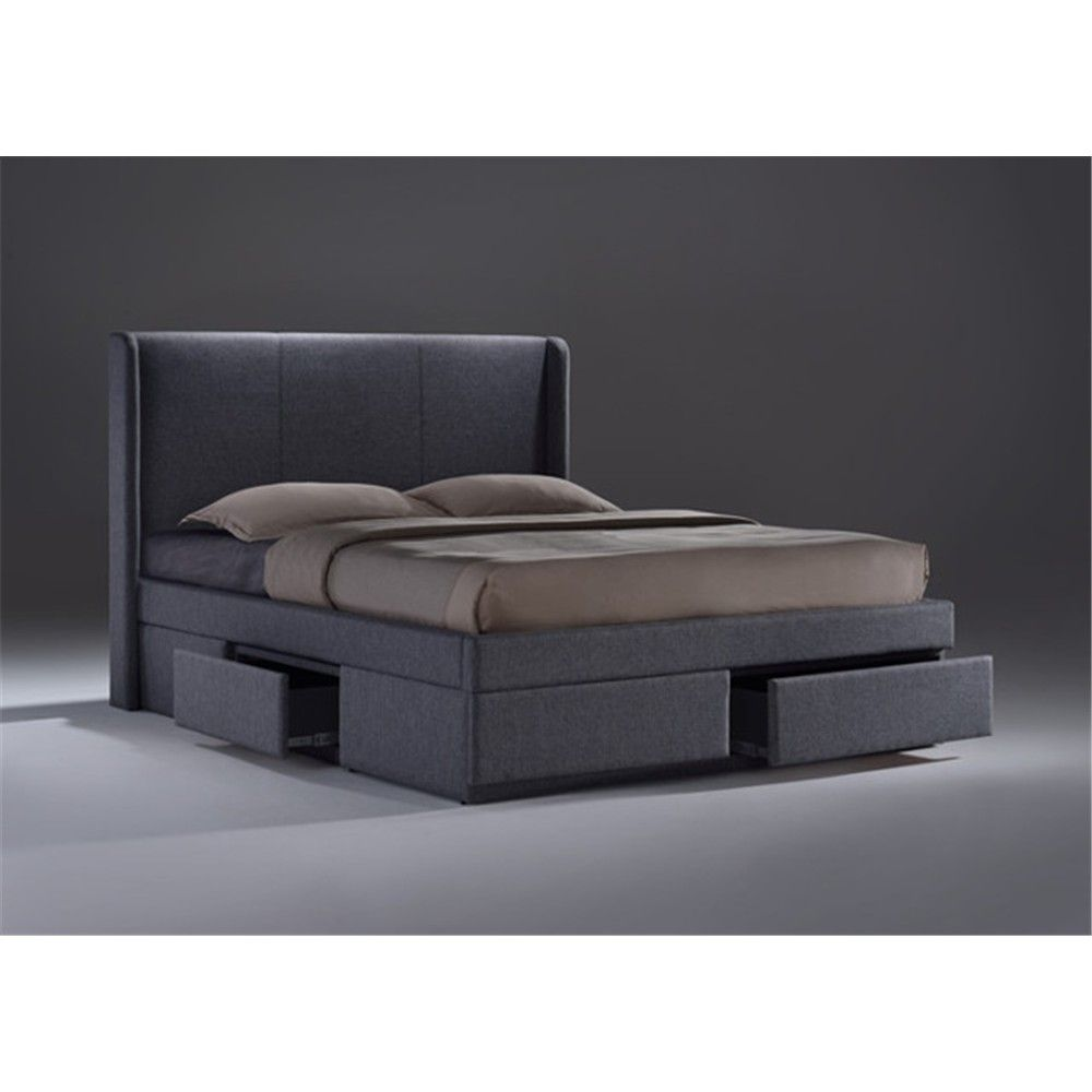 Armande – King Bed with 4 Drawers – Grey – Furniture 2 You | juego ...