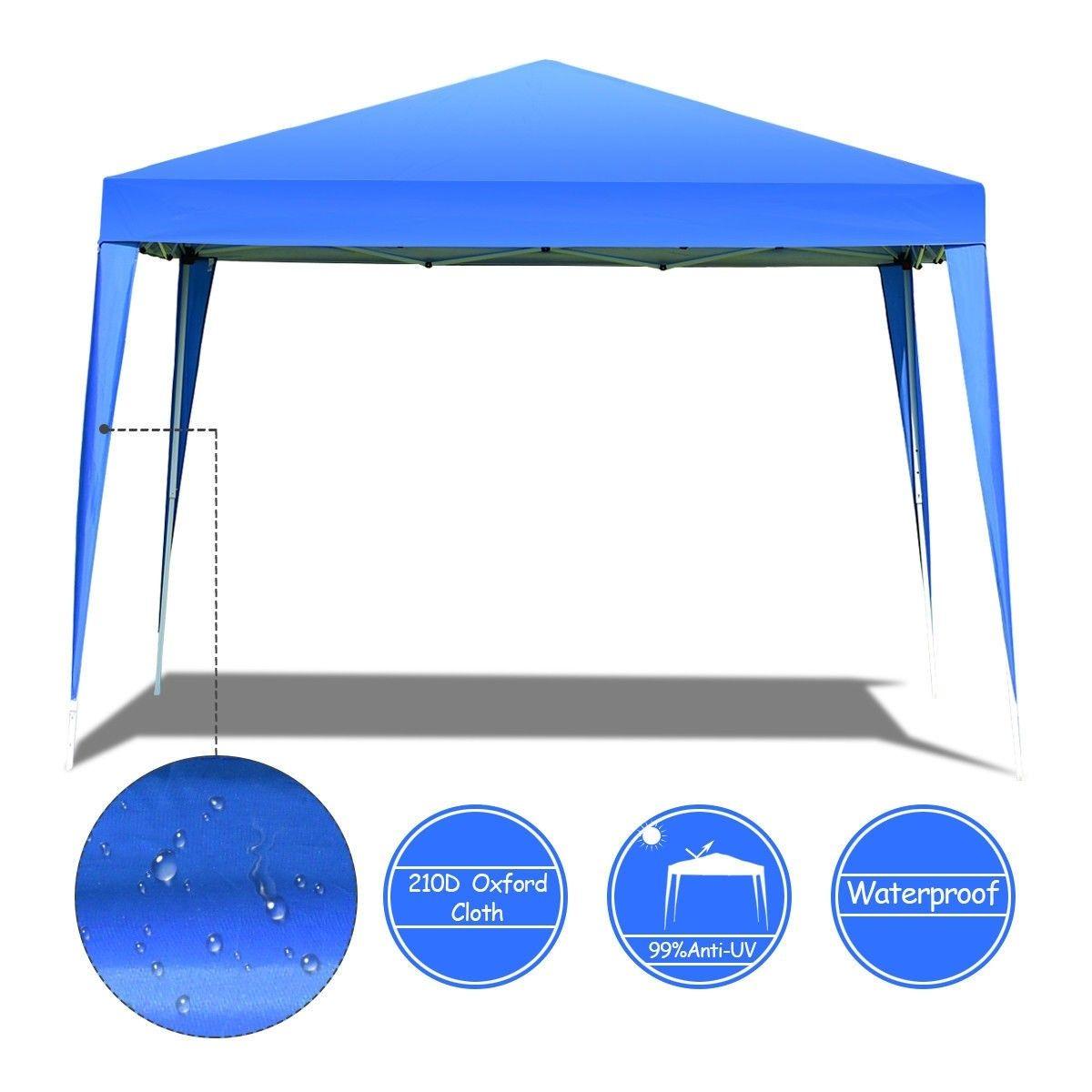 Outdoor Foldable Portable Shelter Gazebo Canopy Tent Portable