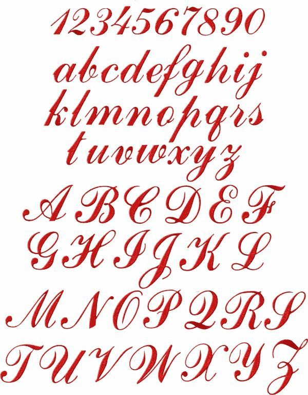 "ABC Designs Monogram 3 Alphabet Machine Embroidery Designs 4/""x4/"" hoop"