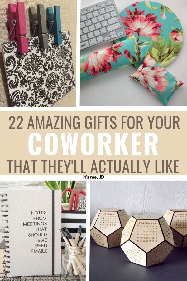 22 Best Gifts For Coworkers Gift Ideas Your Colleagues Work Office Coworkergift Coworkergiftideas