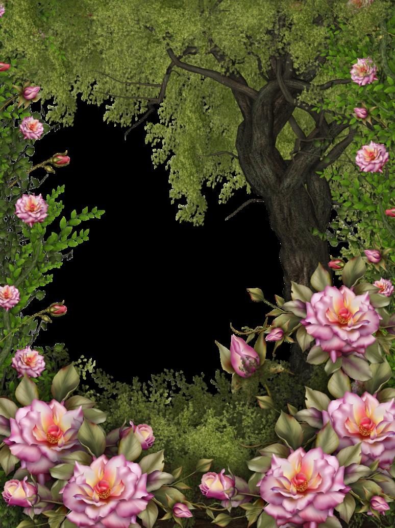 Nature Bg Art Background Flower Frame Flower Art