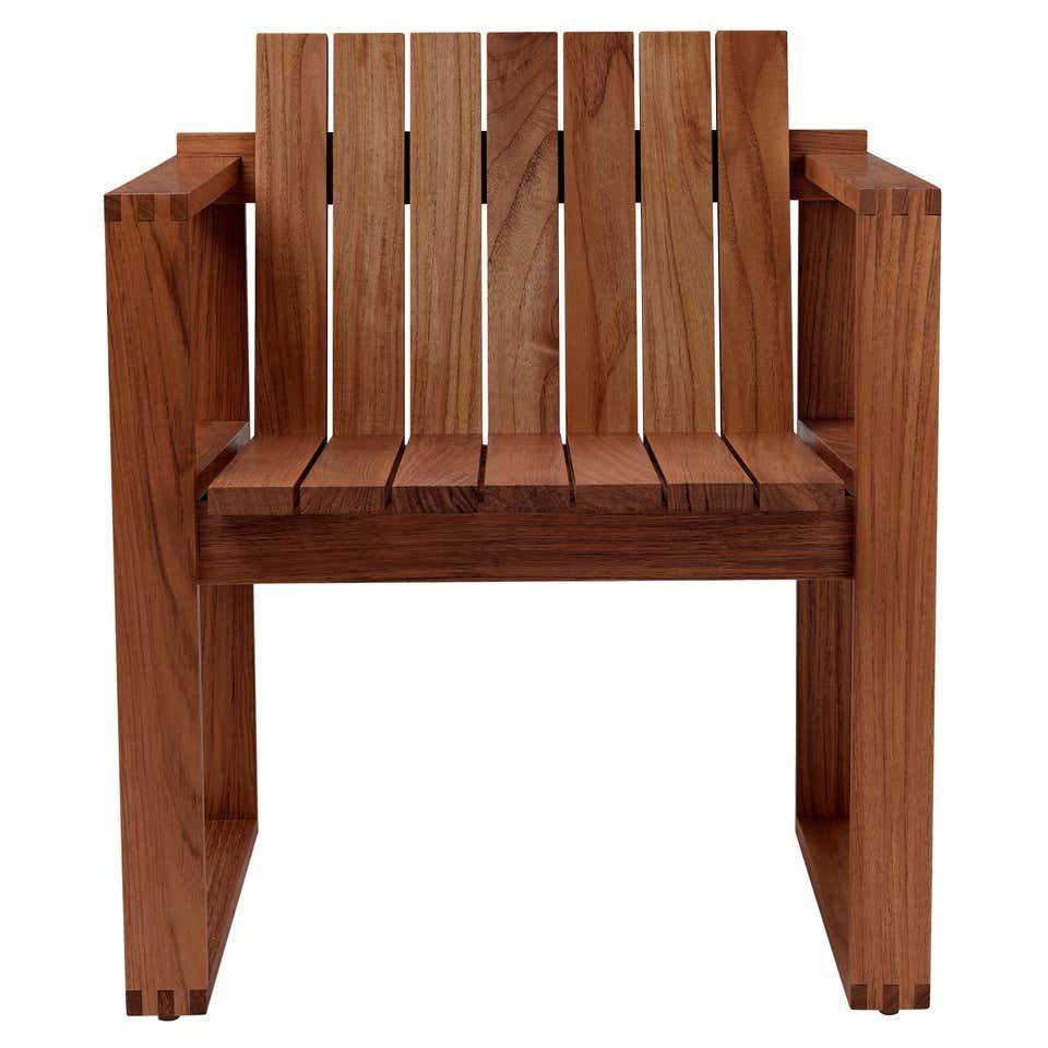 Indoor Outdoor Bk10 Dining Chair In Teak Oil By Bodil Kjaer In 2020 Dining Chairs Indoor Outdoor Furniture Teak Oil