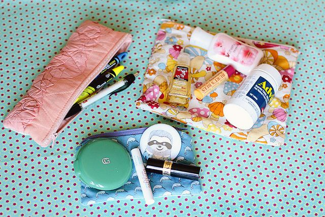 Minibags Inside Purse Inside My Bag Pencil Pouch Mini Bag