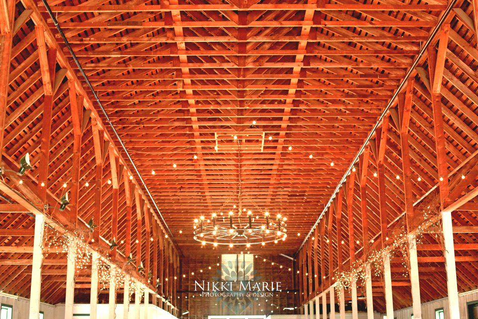 The awesome interior of Springville Ranch's Barn! Amazing ...