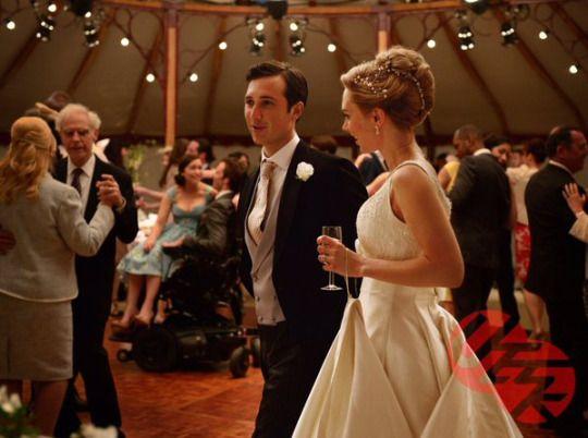 Alicia Et Rupert Wedding Dress In Me Before You Wedding Wedding Dresses Flower Girl Dresses