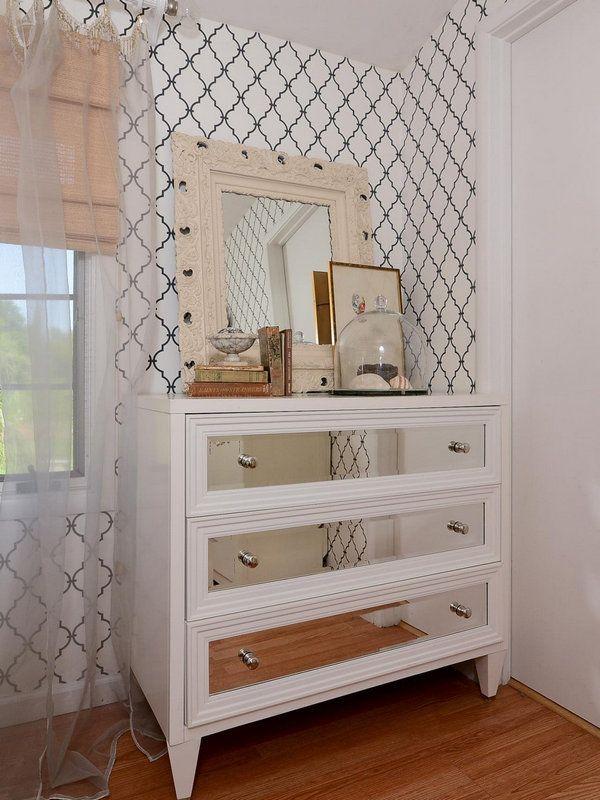 Комод с зеркалом в спальню Идеи для дома Pinterest