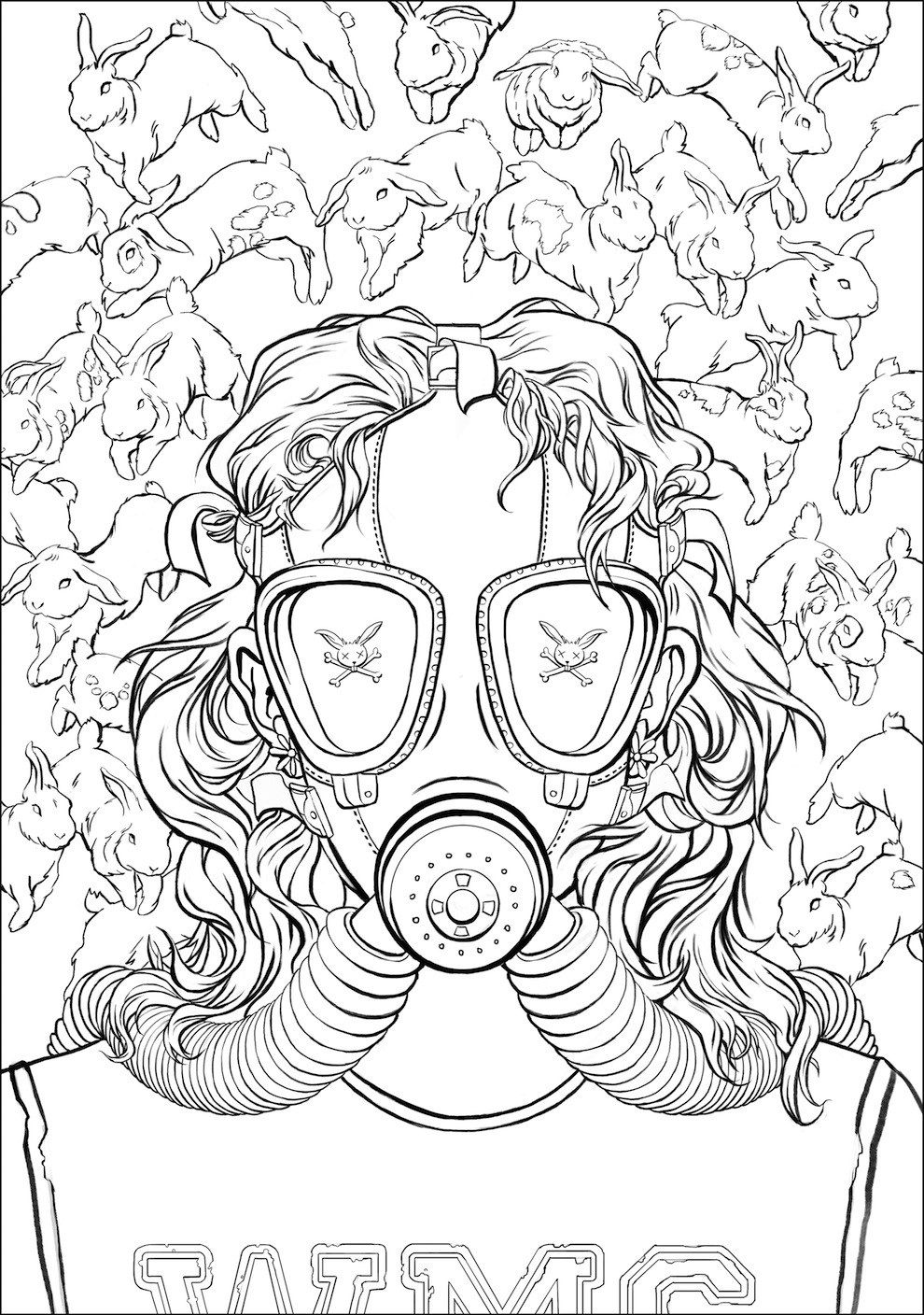 Here S The First Look At Chuck Palahniuk Coloring For