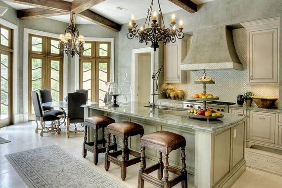 Kitchen  Lovely French Kitchen Design  French Kitchen Design Enchanting French Kitchen Design Decorating Inspiration
