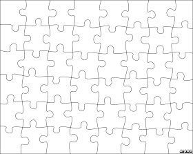 Jigsaw Puzzle Templates Puzzle Piece Template Scroll Saw