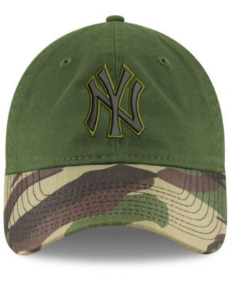 5d2cbd06502f5 New Era New York Yankees Memorial Day 9TWENTY Cap - Green Adjustable ...
