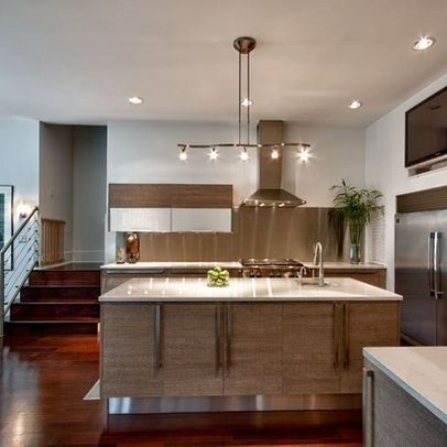 Pin By Home Designer On Home Track Lighting Classic Kitchen