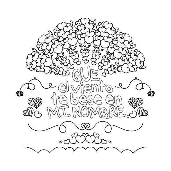 Mandalas con Frases y Corazones para Imprimir PDF Gratis - Mandalas ...