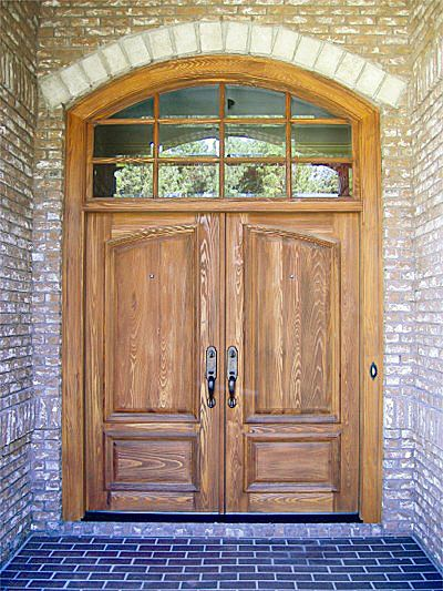 Country French Exterior Wood Entry Door Style Dbyd 2001