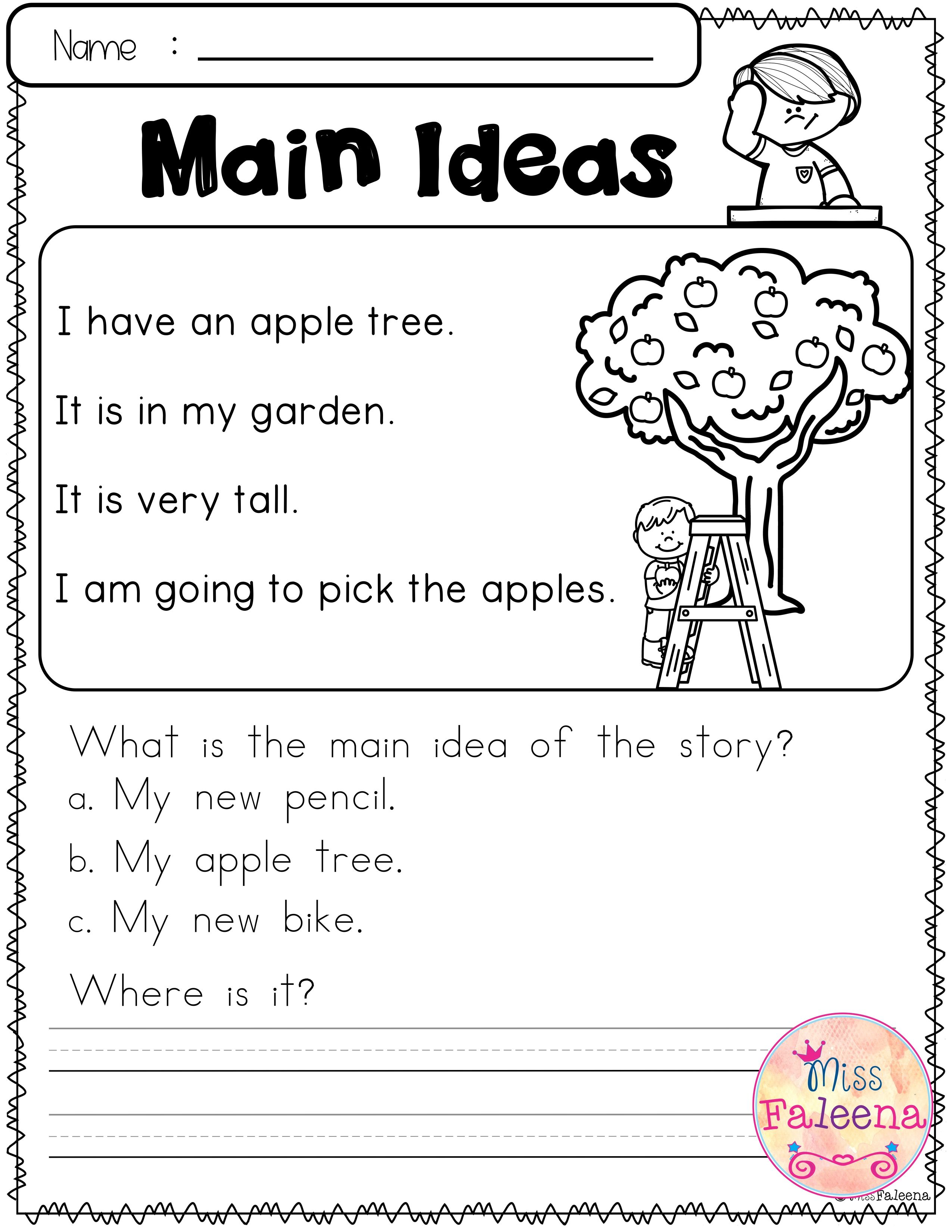 Free Reading Skills Reading Skills Reading Skills Worksheets First Grade Reading