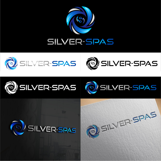 Logo Silver-Spas / Jacuzzi by givewiner | logo | Pinterest ...