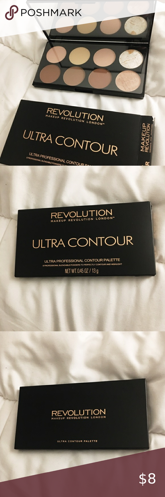 Makeup Revolution Ultra Contour Palette NWT in 2020